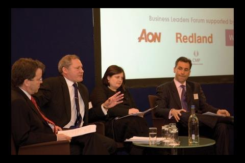 Andy Currie, Catalyst, Denise Chevin, editor of Building, Leslie Kent JM Finn, Nick Salisbury, Barclays